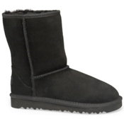 UGG Australia Classic Girls Boots, Black, medium