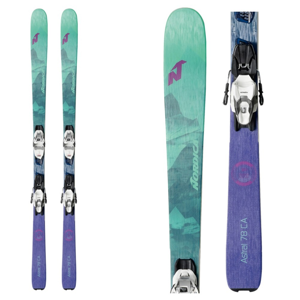Nordica Astral 78 CA Womens Skis with Bindings