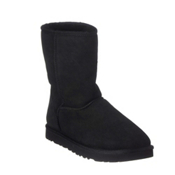 UGG Australia Classic Short Womens Boots, Black, medium