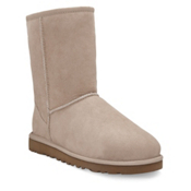 UGG Australia Classic Short Womens Boots, Sand, medium