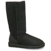 UGG Australia Classic Tall Womens Boots, Black, medium