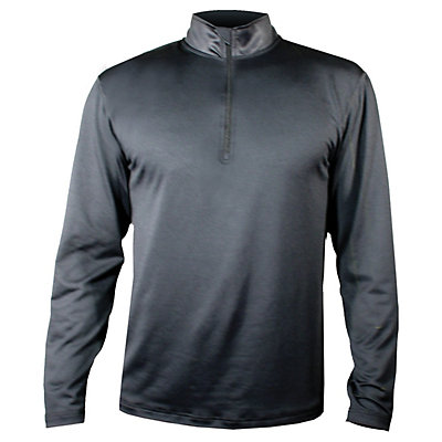 Hot Chillys Micro-Elite Chamois Zip-T Mens Long Underwear Top, , large