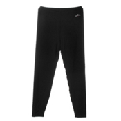 Hot Chillys Chamois Ankle Pants Mens Long Underwear Pants, Black, medium