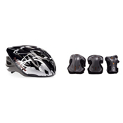 Rollerblade Lux Plus 3 Pad Pack with Rollerblade Workout Helmet, , medium
