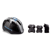 Rollerblade Flash Jr 3 Pad Pack with Rollerblade Zap Boys Helmet, , medium