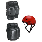 Pro-Tec Street Elbow and Knee Pad with Pro-Tec Street Lite Helmet, , medium