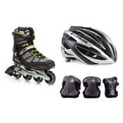 Rollerblade Spark 80 Alu with Lux Plus 3 Pad Pack, , medium