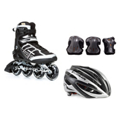 Rollerblade Macroblade 84 with Rollerblade Lux Plus 3 Pad Pack, , medium