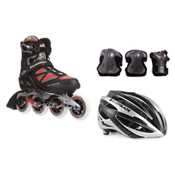 Rollerblade Macroblade 90 with Lux Plus 3 Pad Pack, , medium