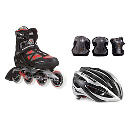 Rollerblade Macroblade 90 with Lux Plus 3 Pad Pack, , 256