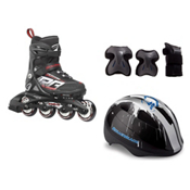 Rollerblade Spitfire XT with Flash Jr 3 Pad Pack, , medium