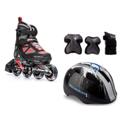 Rollerblade Spitfire LX ALU with Flash Jr 3 Pad Pack, , medium