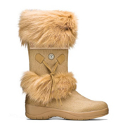 Tecnica Skandia Fur Womens Boots, Beige, medium