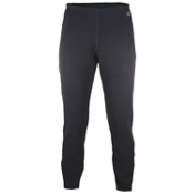 Hot Chillys La Montana Low Rise Womens Long Underwear Pants, Black, medium