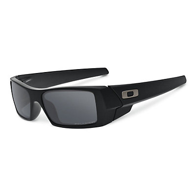 Oakley Gas Can Sunglasses, Polished Black, viewer