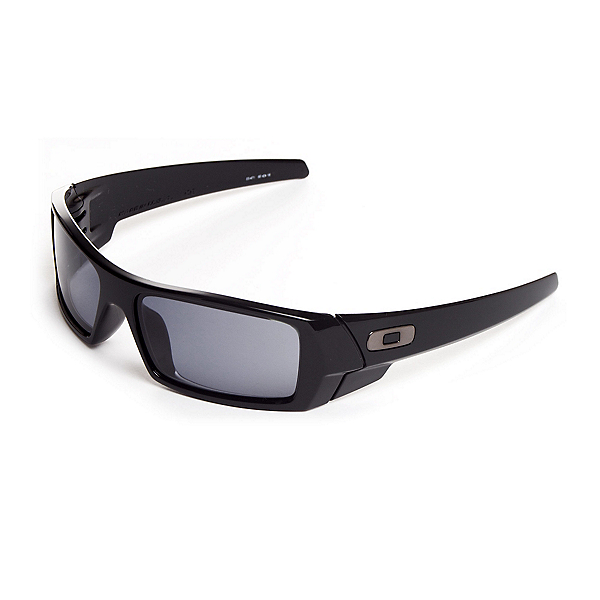 Oakley Gas Can Sunglasses, Polished Black, 600