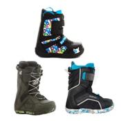 Used Premium Lace Boys Snowboard Boots, , medium