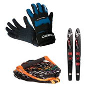 O'Brien X-Grip Pro with Blast Combo Skis Set, , medium