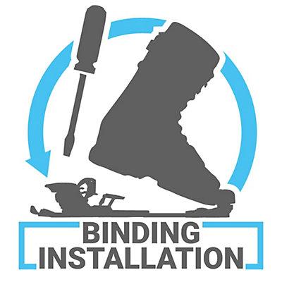 Ski Binding Installation, , viewer