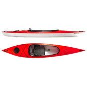 Hurricane Santee 116 Sport Recreational Kayak 2013, Red, medium