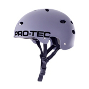 Pro-Tec B2 Signature Mens Skate Helmet 2013, Matte Grey, medium