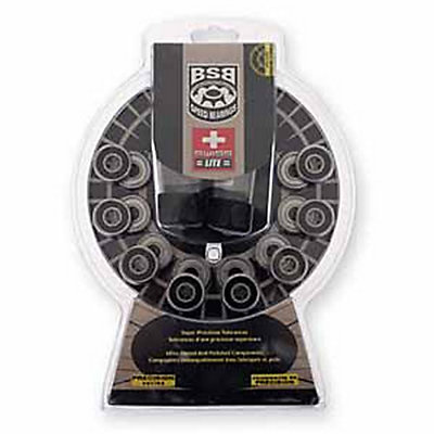 Boss 608 Swiss Lite Skate Bearings, , large
