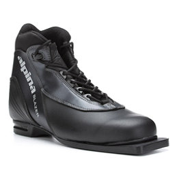 Alpina Blazer 75mm Cross Country Ski Boots, Black, 256