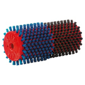 Swix Roto Double Brush - Horse Hair and Blue Nylon Brush, , medium