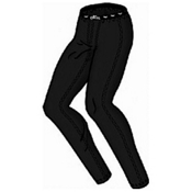 Hot Chillys Peachskin Lowrise Womens Long Underwear Pants, Black, medium