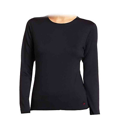 Hot Chillys Chamois Crew Neck Womens Long Underwear Top, , large