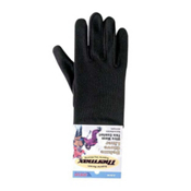 Seirus Deluxe Thermax Glove Liners, Black, medium