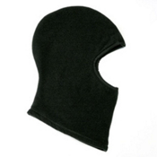 Seirus Polartec Fleece Balaclava, Black, medium