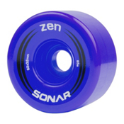 Radar Zen Roller Skate Wheels - 4 Pack, Blue, medium