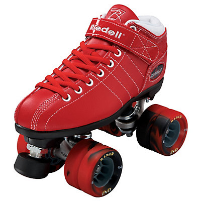 Riedell Diablo Red Speed Roller Skates 2014, , large