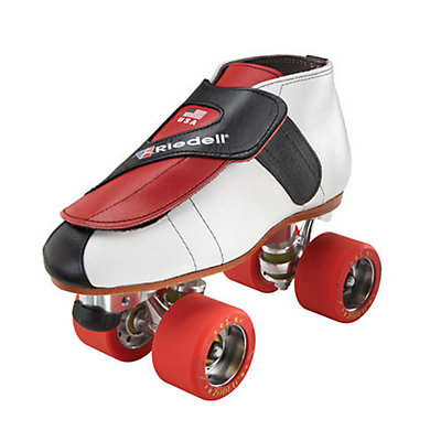 Riedell 911 Jammer Boys Jam Roller Skates, Red, viewer