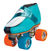 Riedell 911 Jammer Jam Roller Skates, Red, medium