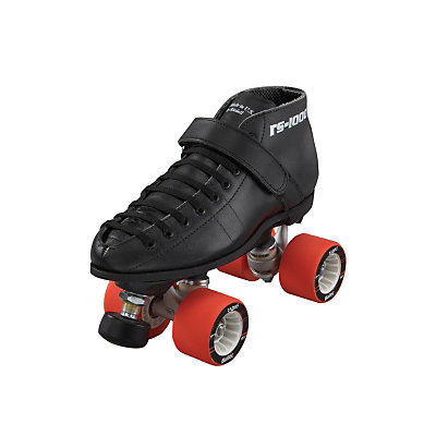 Riedell 125 Hammer Boys Speed Roller Skates, Black, viewer