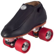 Riedell 395 Quest Boys Jam Roller Skates, Black, medium