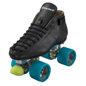 Riedell 595 Monster Jam Roller Skates 2013, Black, medium