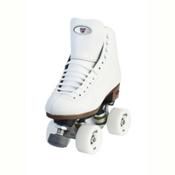 Riedell 120 Raven Womens Artistic Roller Skates, White, medium