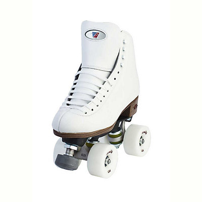 Riedell 120 Raven Womens Artistic Roller Skates, White, viewer
