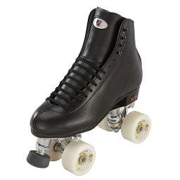 Riedell 120 Raven Boys Artistic Roller Skates, Black, 256