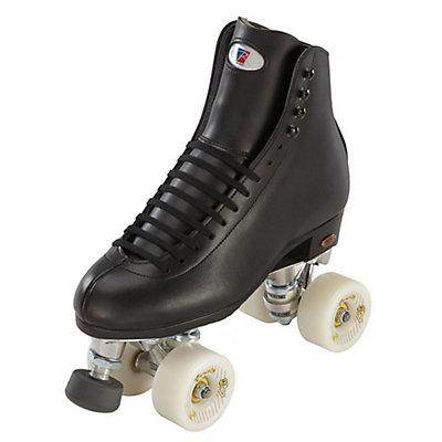 Riedell 120 Raven Boys Artistic Roller Skates, Black, viewer