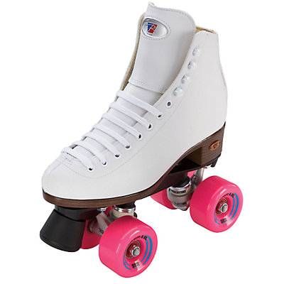 Riedell 110 Citizen Girls Outdoor Roller Skates 2016, White, large