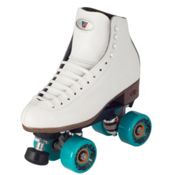 Riedell 120 Celebrity Womens Outdoor Roller Skates, White, medium