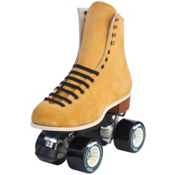 Riedell 130 Diva Womens Outdoor Roller Skates 2013, Tan, medium
