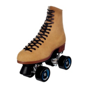 Riedell 135 Zone Womens Outdoor Roller Skates 2013, Tan, medium