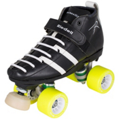 Riedell 265 Wicked Womens Derby Roller Skates 2013, Black, medium