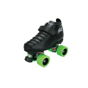 Riedell 126 She Devil Womens Derby Roller Skates, Black, medium