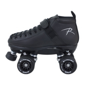 Riedell 165 Vixen Womens Derby Roller Skates, Black, medium